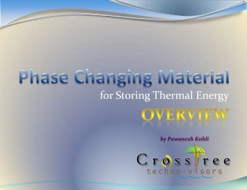 Passive Thermal Storage - CrossTree