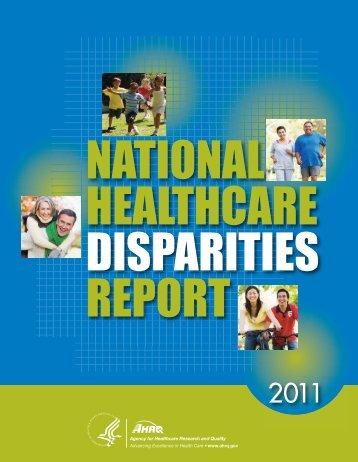 DISPARITIES REPORT