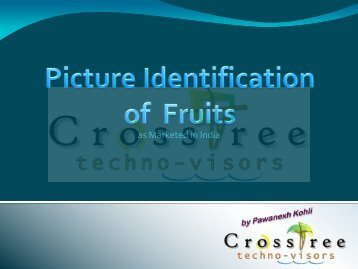 Photo ID - Fruits Sold in India - CrossTree