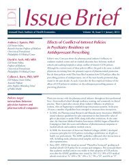 Effects of Conflict-of-Interest Policies in Psychiatry Residency on ...