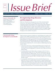 Re-engineering Drug Discovery and Development
