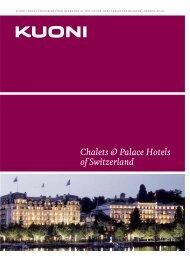 Chalets & Palace Hotels of Switzerland - Kuoni