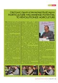 HORTICULTURE HAS IMMENSE POTENTIAL TO REVOLUTIONIZE AGRICULTURE - Page 2