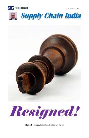 Resigned!