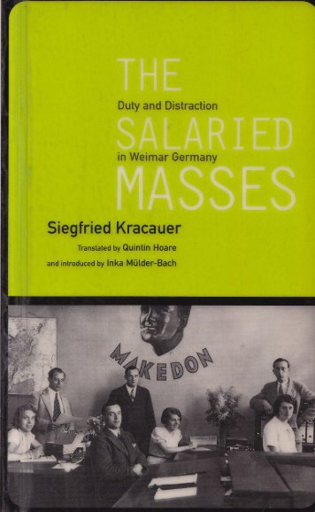 The Salaried Masses