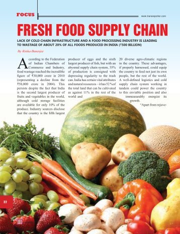 FRESH FOOD SUPPLY CHAIN