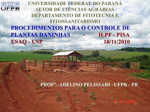 ESAQ - USP 18/11/2010