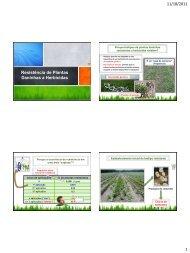 Daninhas a Herbicidas 1