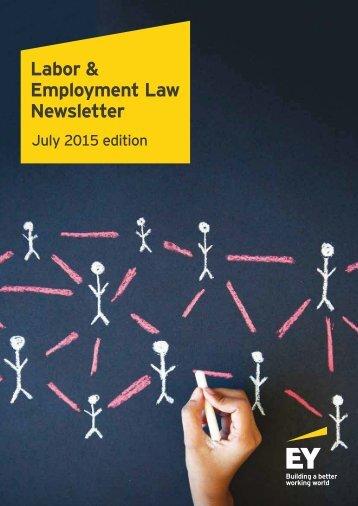 Employment Law Newsletter