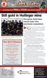 Still gold in Hollinger Mine