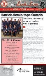Barrick-Hemlo tops Ontario