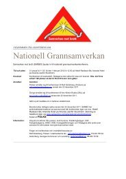 Läs mer i Inbjudan med program - Sveriges Kommuner och Landsting