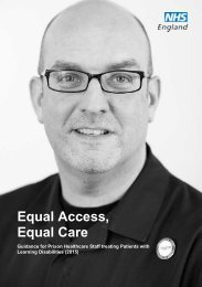 Equal Access Equal Care