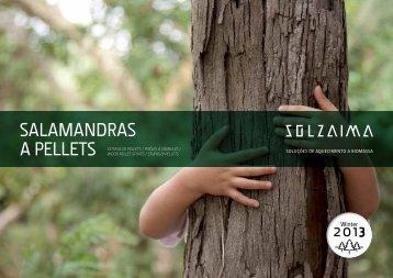 SALAMANDRAS A PELLETS