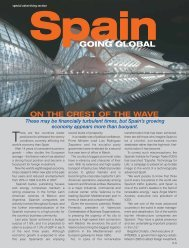 Spain: Going Global - Forbes Special Sections