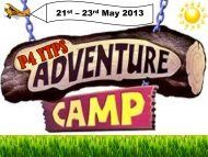 21 – 23 May 2013