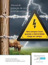 Manual de proteção de cercas e currais contra raios