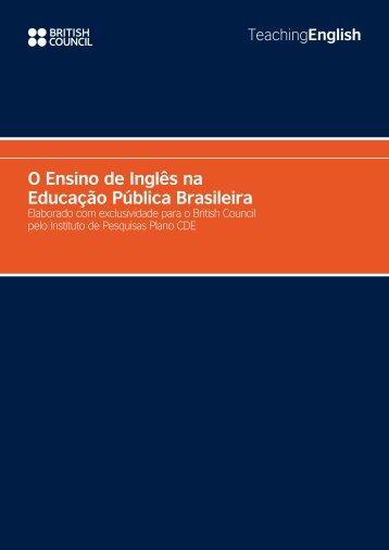 O Ensino de Inglês na Educação Pública Brasileira