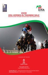 2008 ERA Horses in Training Sale - Tattersalls