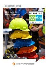 Exhibitors GuidE - Nordbygg