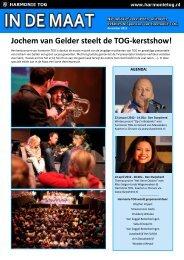 Jochem van Gelder steelt de TOG-kerstshow!