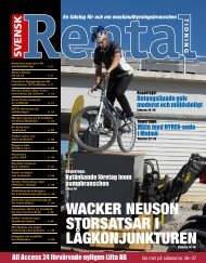 Wacker Neuson storsatsar i lågkonjunkturen