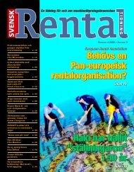 Svensk Rental Tidning 4-2006