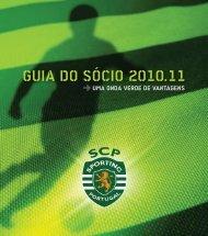 GUIA DO SÓCIO 2010.11 - Sporting Clube de Portugal