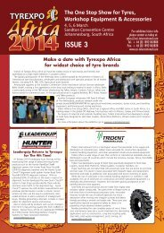 Tyrexpo Africa'14 Issue 3_newsletter - ECI International