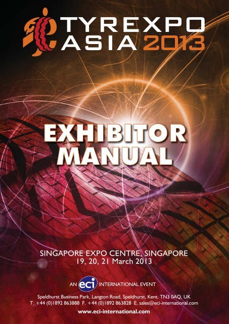 exhibitor manual - ECI International