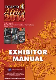 MEDIA RELEASE Exhibitors praise TyrexpoAsia09 as dates confirmed for 2011
