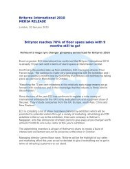2010 Media Release 1 : Jan 10 - ECI International