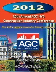 26th Annual AGC NYS Construction Industry Conference