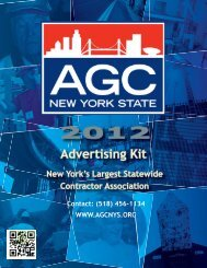 Advertising Kit - The Associated General Contractors of New York ...