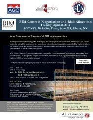 BIM Contract Negotiation and Risk Allocation