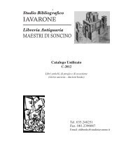 Catalogo Unificato - Maestri di Soncino