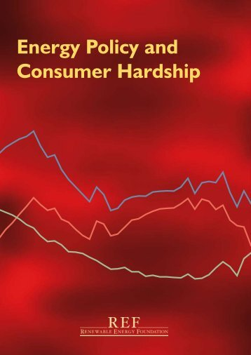 Energy Policy and Consumer Hardship
