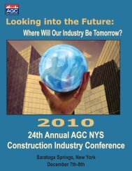 Looking into the Future - The Associated General Contractors of ...