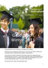 Graduation Winter 2011