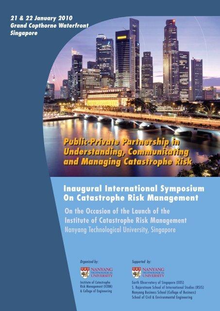 ICRM Symposium Brochure - pdf - Nanyang Technological University