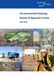 Tax Incremental Financing Review of Approach to Date