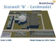 Sizewell B Card Model - Nuclear Institute YGN