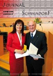 Silbernes Ehrenzeichen für Verdienste um das ... - Schwadorf