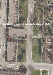 Geo-informatie in Autodesk MAP