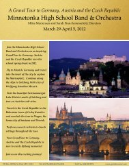 A Grand Tour to Germany, Austria and the Czech Republic