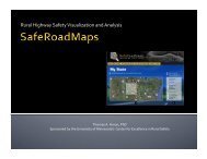 Rural Highway Safety Visualization and Analysis