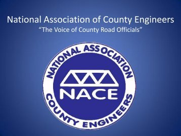 National Association of County Engineers