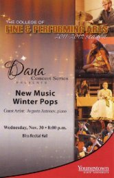 Wednesday, November 30 at 8:00 pm (2011