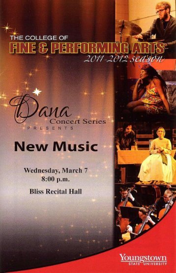 """Wednesday, March 7 at 8:00 pm (""""2012"""