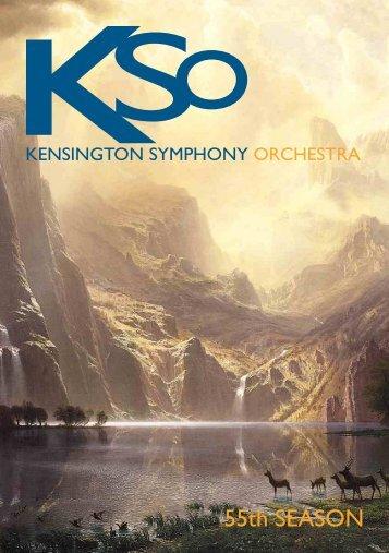 Interval – 20 minutes - Kensington Symphony Orchestra